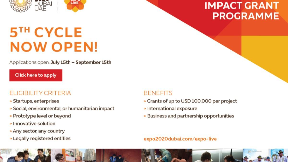 Innovation Impact Grants -- USD 100,000 | WiiN